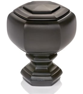 "Grotto Finial for 1 3/8"" Designer Metal curtain rods"