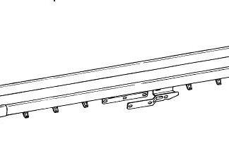 Traverse Rod with plain rod