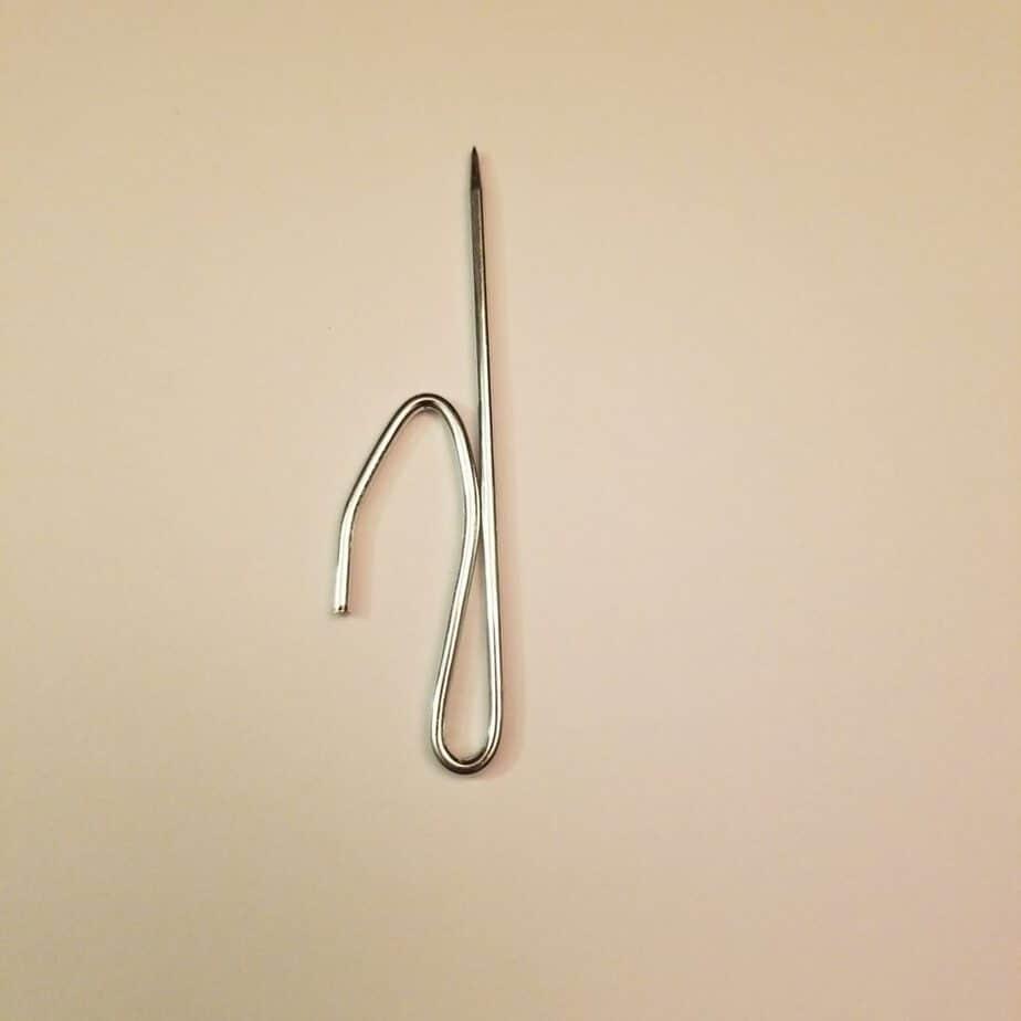 3 inch drapery rod pin hook