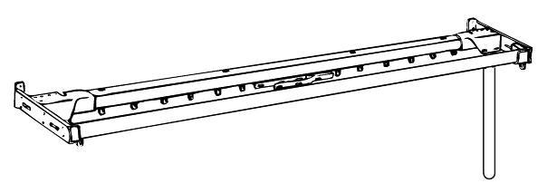 Traverse rod plain rod combo