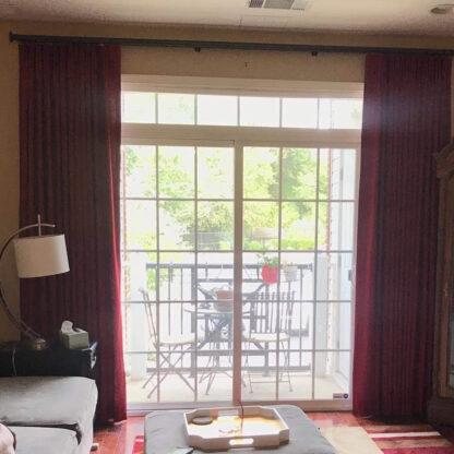 Decorative K-Rail used in living area
