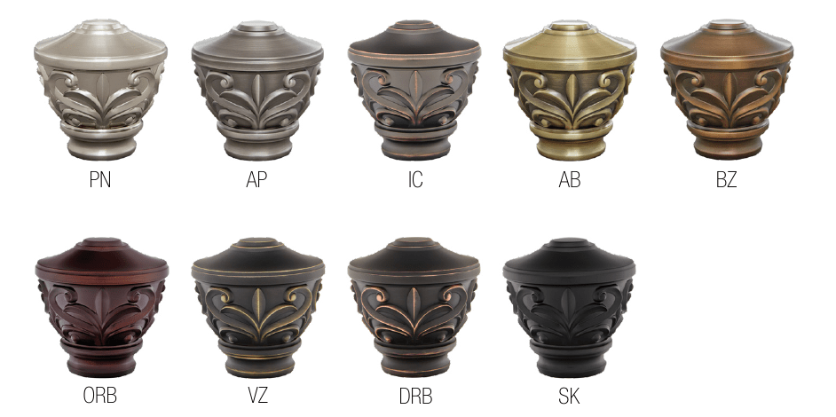 Blakely Urn Colors