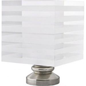 Striped Block Finial