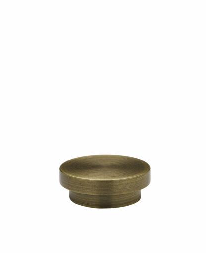 Tapa Endcap Antique Brass