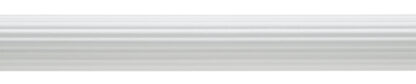 Reeded Pole White