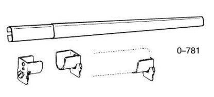 Traverse Sheer Rod Kit