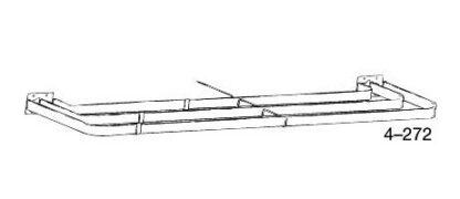 triple lockseam curtain rod