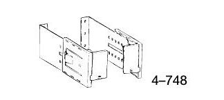 """Graber 6-8 1/2"""" clearance bracket for curtain rods"""