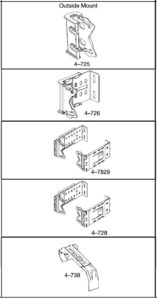 Brackets and Supports for 21⁄2