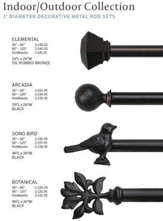 Indoor Outdoor Rod Sets